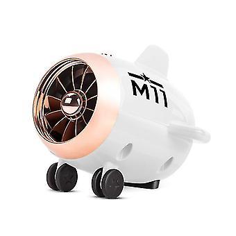 Biely bluetooth 5.0 reproduktor malé lietadlo audio digitálny inteligentný reproduktor vonkajší bezdrôtový subwoofer, biela az20184