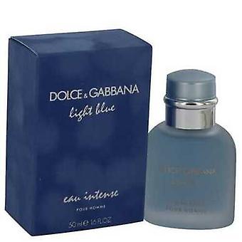 Light Blue Eau Intense By Dolce & Gabbana Eau De Parfum Spray 1.7 Oz (men)