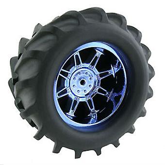 """סל""""ד Stablemaxx 'מפלצת עכביש' גלגלים (2) - כרום כחול"""