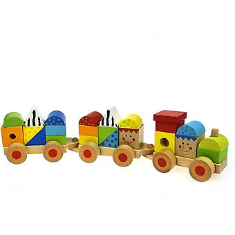 Wooden Stacking Train Activity Toy