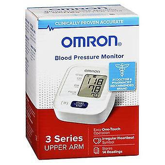 Omron 3 Series Upper Arm Blood Pressure Monitor BP7100, 1 Each