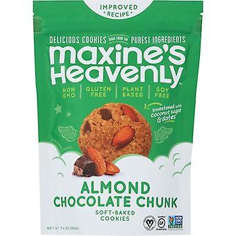 Maxines Heavenly Cookie Almnd Choc Chunk, prípad 8 X 7.2 Oz