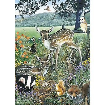 Otter House Woodland Friends Jigsaw Puzzle (1000 Pieces)