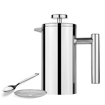 Stainless Steel Coffee  Pot With Teapot Filter Press