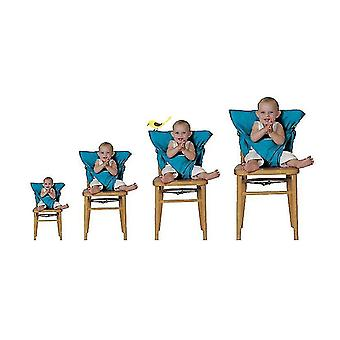 Extra Large Booster Chair Cover,dining Chair Seat Protector Cover For Booster Seat(BLUE)