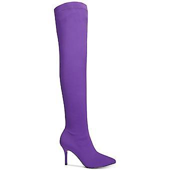 INC International Concepts Womens Zaliaa Pointed Toe Over Knee Fashion Boots