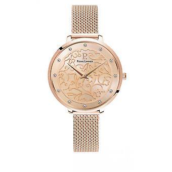 Naisten kello Pierre Lannier kellot 041K958 - Vaaleanpunainen kulta teräshihna