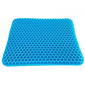 Gel Seat Cushion,double Thick Egg Seat Cushion(Blue)