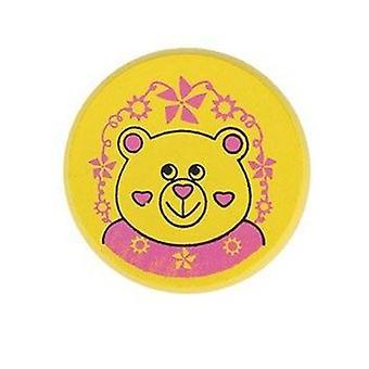 Children Yoyo Ball Cute Animal Prints Wooden Yoyo Ladybug Kids Yo-yo