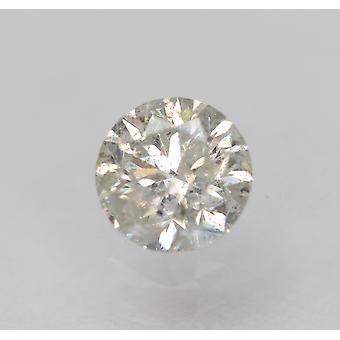 Certificado 0.36 Quilates G Cor SI3 Redondo Brilhante Natural Diamante Solto 4.45mm