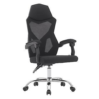 Office Chair Back Mesh Office Chair Ergonomic Swivel Black Mesh Computer Chair Flip Up Arms