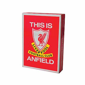 Liverpool FC This Is Anfield Playing Card Deck