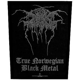 Darkthrone ryggplåster: sann norsk black metal