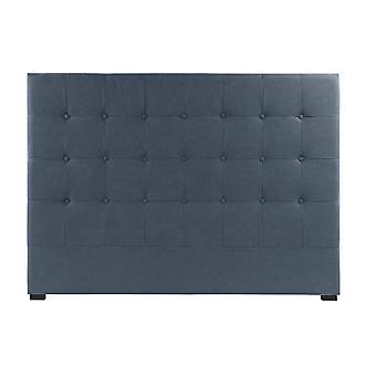 Headboard DKD Home Decor Blue Polyester MDF Wood (159 x 8 x 119 cm)