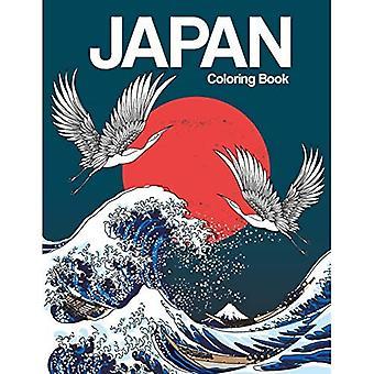 Japońska kolorowanka: Japońskie projekty Kolorowanka dla dorosłych Relaks i inspiracja (japońska kolorowanka)
