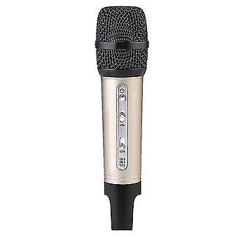 מיקרופונים מיקרופון Bluetooth אלחוטי מיקרופון זהוב