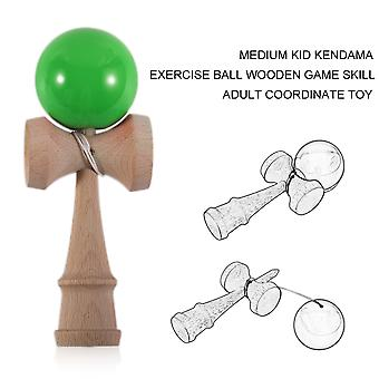 Jade Sword Kendama Pu Paint Wooden Ball Toy 6cm Kendama Ball For 16cm Kendama