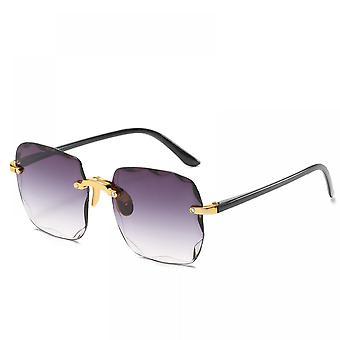 Europäischer Trend Quadratische Sonnenbrille mit großem Rahmen