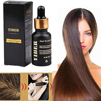 20ml d'huile essentielle naturelle de croissance des cheveux, avec des propriétés anti-chute de cheveux