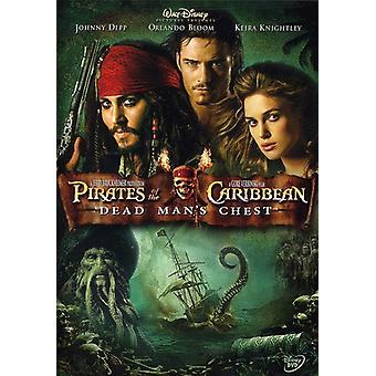 Pirates des Caraïbes Dead Mans poitrine [DVD] USA import