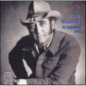 Don Williams - 20 Greatest Hits [CD] USA import