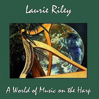 Laurie Riley - mundo da música na importação EUA harpa [CD]