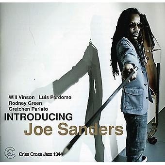 Joe Sanders - Introducing Joe Sanders [CD] USA import