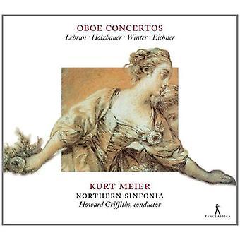 Lebrun / Meier - Oboenkonzerte Der Mannheime [CD] USA import