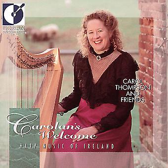 Carol Thompson - Carolan's Welcome: Harp Music of Ireland [CD] USA import