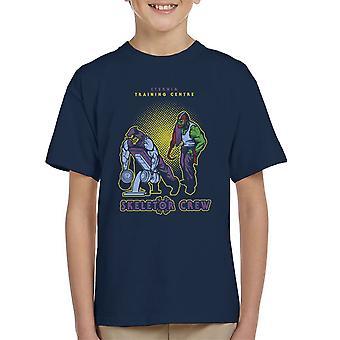 Eternia Training Centre Skeletor Crew He Man Gym Kid's T-Shirt