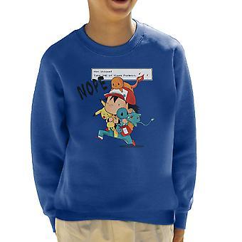 Pokemon Ash dehogyis legmenőbb kölyök ' s pulóver