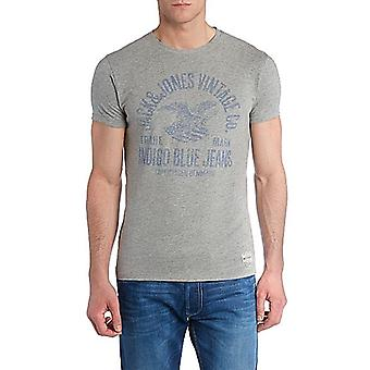 Jack and Jones Indigo Blues Tee leicht graues T-Shirt
