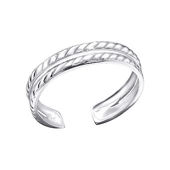 Chain - 925 Sterling Silver Toe Rings - W21279x