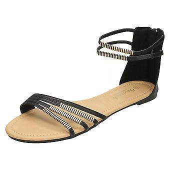 Mesdames Savannah cheville Strap Sandal