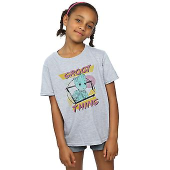 Marvel Mädchen Hüter des Galaxy Vol. 2 Groot Sache T-Shirt