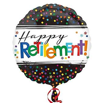 Anagram 18 Inch Officially Retired Circle Foil Balloon