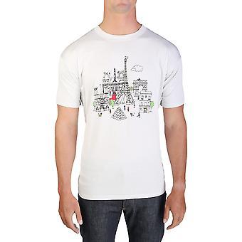 Paris masculine Lanvin imprimé T-Shirt oversize gris clair