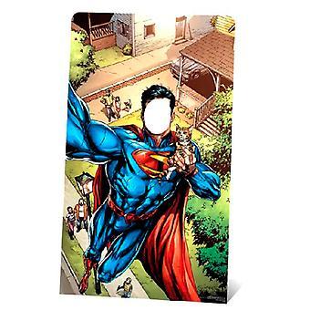 Супермен Selfie стенд