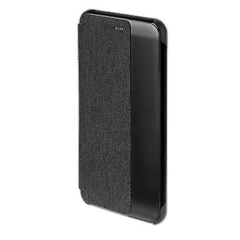 CHELSEA slimme cover venster voor Huawei P10 plus zak cover case zwart