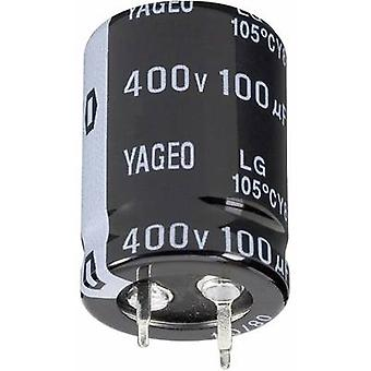 Yageo LG400M0150BPF-3030 Electrolytic capacitor Snap-in 10 mm 150 µF 400 V 20 % (Ø x H) 30 mm x 30 mm 1 pc(s)