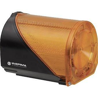Werma Signaltechnik كومبو سوونر 444.310.68 الأصفر 230 V AC 114 ديسيبل
