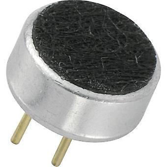 Microphone capsule 2 - 10 V DC Frequency range=20 Hz - 16000 Hz KEPO KPCM-G60H27P-44DB-1183
