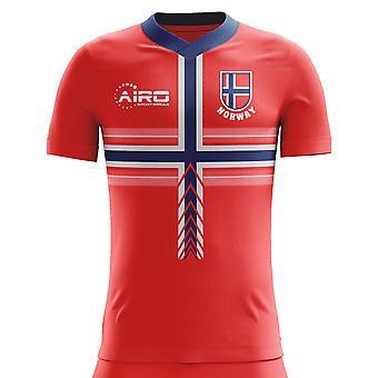 2018-2019 Noorwegen Home Concept voetbalshirt (kinderen)