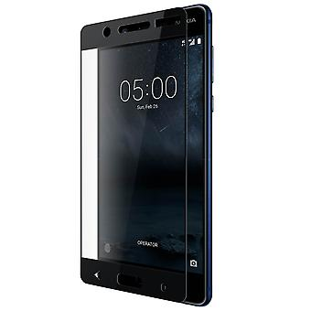 Screen protector for Nokia 5, Tempered Glass with black edges