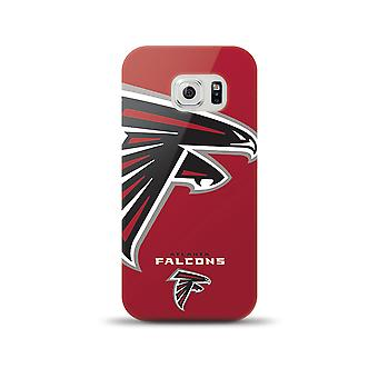 Mizco Sports NFL Oversized Snapback TPU Case for Samsung Galaxy S6 (Atlanta Falcons)
