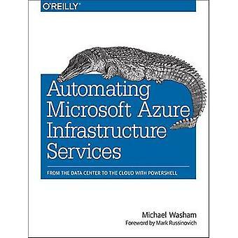 Automatisointi Microsoftin Azure infrastruktuurin Services - tietojen Cen