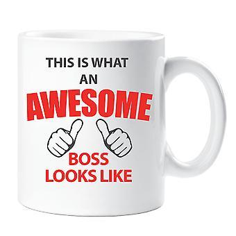これは何の素晴らしい上司に見えるようなマグカップ