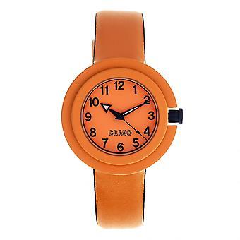 Crayo Equinox Unisex Watch - oranssi/Navy