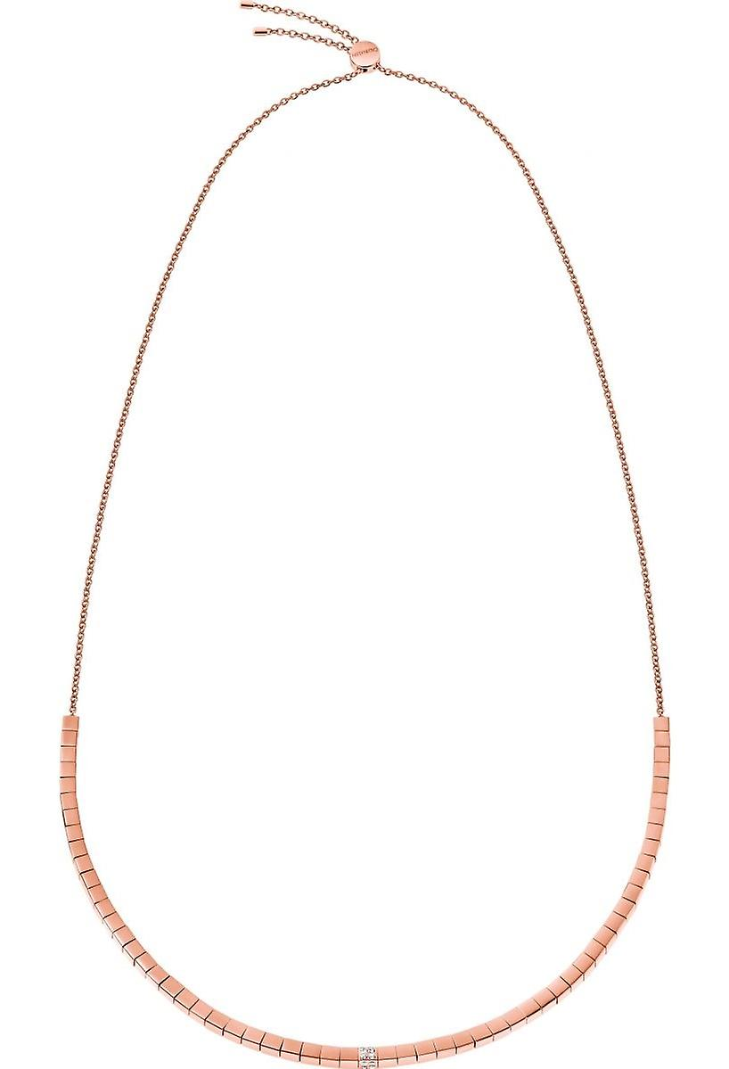 Calvin Klein Tune Rose Gold Tone Stainless Steel Necklace KJ9MPN140100