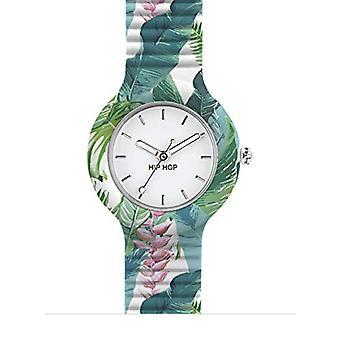 Hip Hop Analog quartz ladies Silicone wrist watch HWU0674